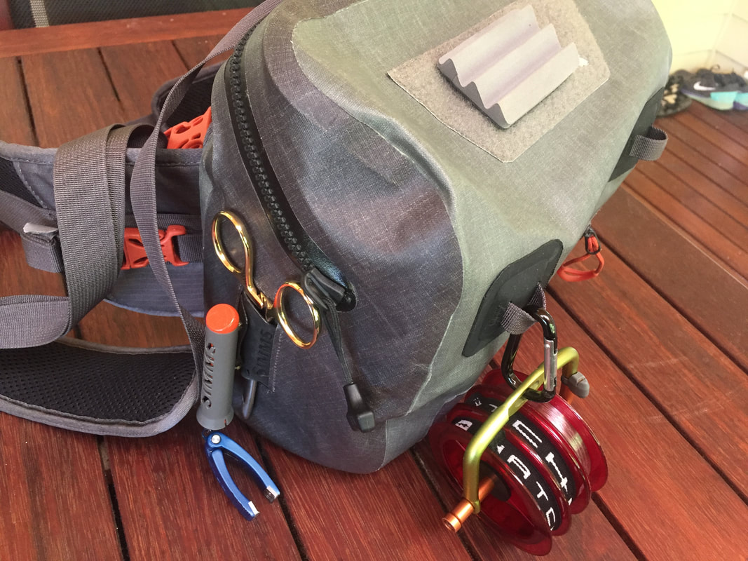 Simms Dry Creek Zip Hip Pack Review Untamed Flies And Tackle